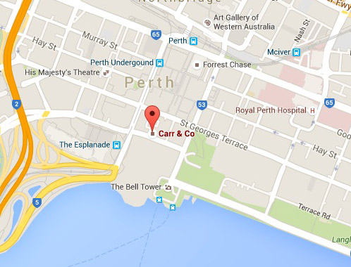 Carr-and-Co-Family Lawyers Perth Location